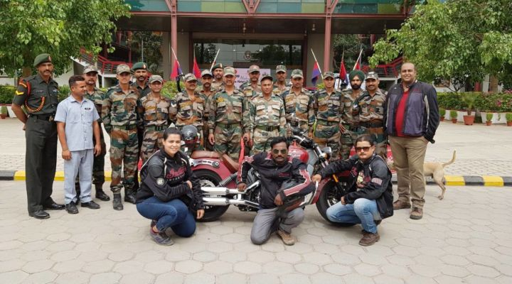 YOUNGEST FEMALE MOTORCYCLE RIDER TO COMPLETE THE HIGHEST EXPEDITION ON THE HEAVIEST MOTORCYCLE.