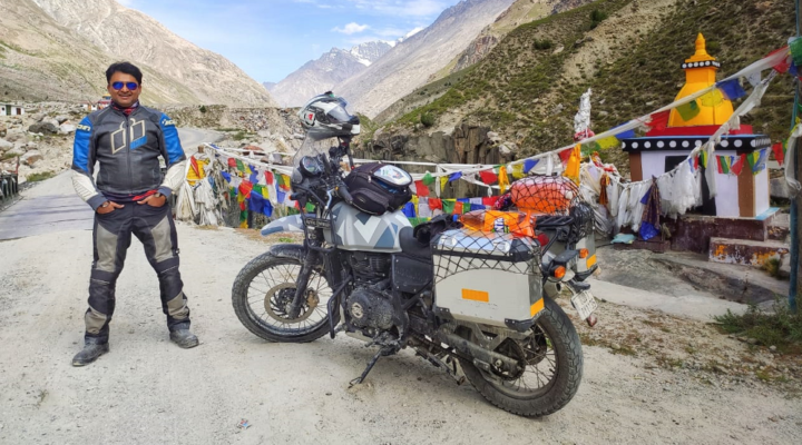 FIRST SOLO MOTORCYCLE RIDER TO COMPLETED ROUTE CIRCUIT
