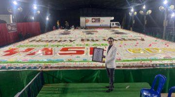 WORLD'S BIGGEST CELEBRITY BIRTHDAY CAKE