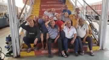 MAXIMUM PEOPLE PARTICIPATE IN SPIRITUAL TOUR